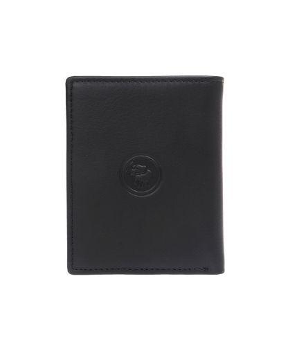 ארנק עור דגם תום שחור | עמנואל