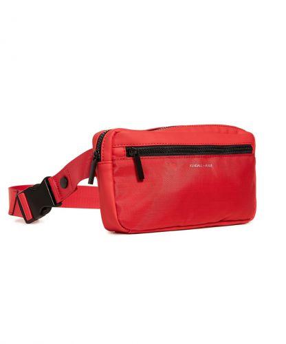 תיק פאוץ' אולימפיה קנדל וקיילי | KENDALL + KYLIE Olympia Waist Bag-אדום