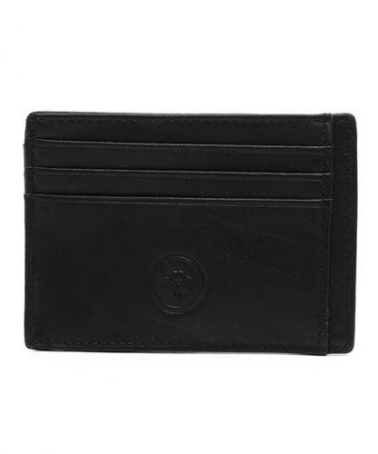 ארנק מעור דגם טייני שחור | עמנואל
