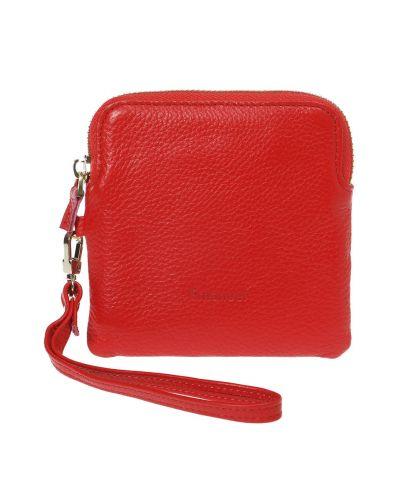 ארנק עור דגם מיילי קטן - אדום