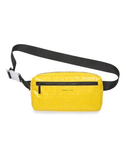 תיק פאוץ' אולימפיה קנדל וקיילי | KENDALL + KYLIE Olympia Waist Bag-צהוב