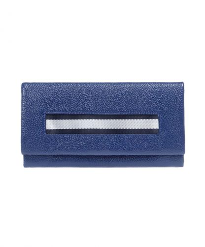 ארנק עור דגם אולימפיק L כחול | נטע שדה