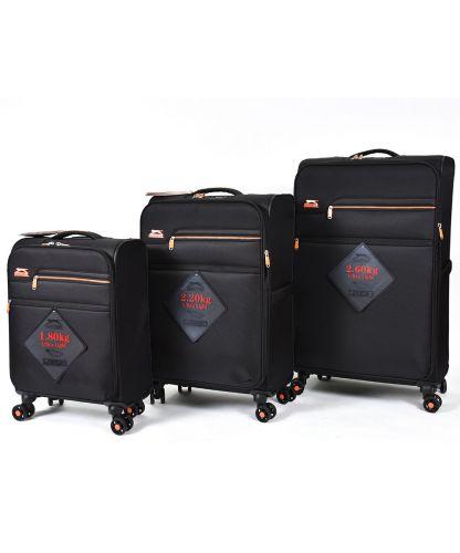סט מזוודות של שלזינגר דגם ברצלונה Barcelona Slazenger