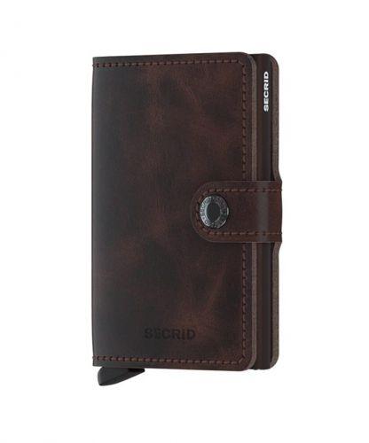 ארנק עור+ אלומיניום  Mini Wallet SECRID